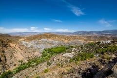 Amazing landscape of Sierra Nevada, Alpujarra/Almeria region. Spain Royalty Free Stock Photo