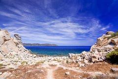 Amazing landscape in Villasimius, Sardinia, Italy. Royalty Free Stock Photography