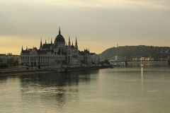 Amazing Landscapes of Budapest, Views of Hungary. Beautiful cities of Europe royalty free stock images