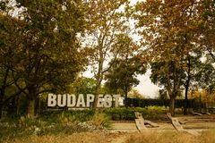 Amazing Landscapes of Budapest, Views of Hungary. Beautiful cities of Europe royalty free stock photo