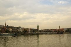 Amazing Landscapes of Budapest, Views of Hungary. Beautiful cities of Europe stock images
