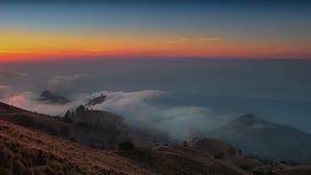 Senaru basecamp, Mount Rinjani Lombok royalty free stock images