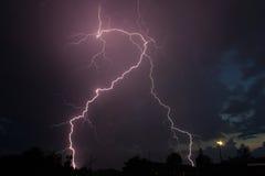 Amazing lightning Stock Photo