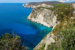 Amazing lookout at Keri cape, Zakynthos, Greece. Amazing lookout at Keri cape, Zakynthos Royalty Free Stock Image