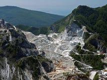 Amazing marble quarry view - Carrara, Italy Stock Photos