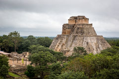 The amazing Mayan Ruins in Yucatan Region Stock Photography