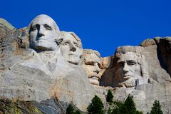 Mount Rushmore National Memorial Rushmore Grand view stock image