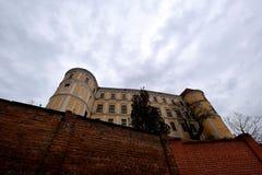 Mikulov castle, Czech Republic stock photos