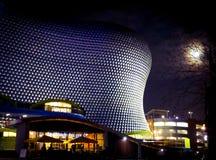 Birmingham Selfridges building stunning under a full moon. royalty free stock photos