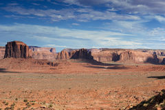 Amazing Monument Valley Scene in Utah, United States Royalty Free Stock Image