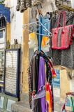 Amazing Morocco, incredible Essaouira, a medieval city, a bazaar royalty free stock photography