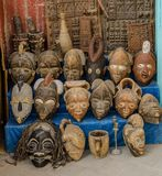 Amazing Morocco, incredible Essaouira, a medieval city, a bazaar stock images