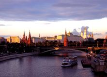 Amazing Moscow view stock photo