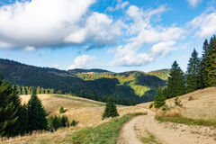 Amazing mountain landscape in early autumn Royalty Free Stock Photo