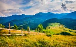 Amazing mountain landscape Royalty Free Stock Images