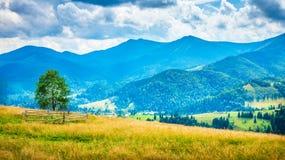 Amazing mountain landscape Stock Photography