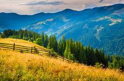 Amazing mountain landscape Stock Images