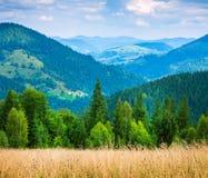 Amazing mountain landscape Royalty Free Stock Photos
