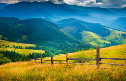 Amazing mountain landscape Stock Image