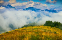 Amazing mountain landscape Royalty Free Stock Photos