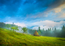 Amazing mountain landscape Royalty Free Stock Photography