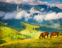 Amazing mountain landscape Stock Photography