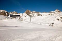 Amazing mountain scenery from St. Moritz, Switzerland. Royalty Free Stock Photography