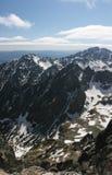 Amazing mountains Stock Photography