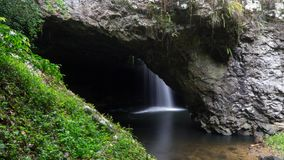Amazing Natural Bridge hidden in the middle of Springbrook National park, Australia royalty free stock image