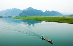 Amazing natural landscape at Quang Binh, Viet Nam Royalty Free Stock Image
