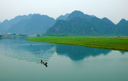 Amazing natural landscape at Quang Binh, Viet Nam Stock Image
