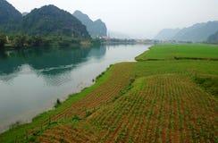 Amazing natural landscape at Quang Binh, Viet Nam Royalty Free Stock Photo