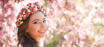 Amazing natural spring beauty. Royalty Free Stock Photography