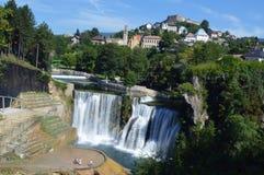 Amazing natural waterfall in bosnia Stock Photos
