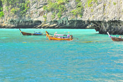 Amazing Nature and Exotic Travel Destination in Phi-Phi Island, Thailand Royalty Free Stock Photo