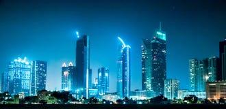 Amazing Night Dubai royalty free stock image