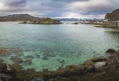 Mageroya Island in Norway Royalty Free Stock Image