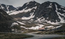 Mageroya Island in Norway Stock Image