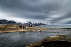Mageroya Island in Norway Stock Photos