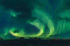 Amazing Northern Lights Royalty Free Stock Photo