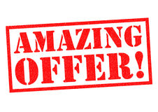 AMAZING OFFER! Royalty Free Stock Photography