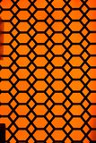 Orange Pattern Background Stock Image