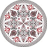 Amazing oriental Vintage image in mandala view. Oriental decorative vintage image that can be used many uses, in mandala view in violet color royalty free stock image
