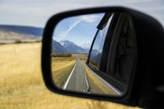 Roadtrip time! New Zealand, Mount Cook stock photography