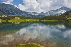 Amazing Panorama around Muratovo lake, Pirin Mountain Stock Photography