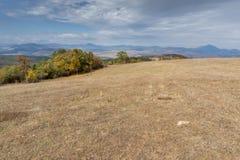Amazing Panorama of Cherna Gora mountain, Bulgaria Stock Photography