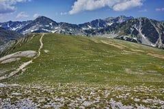 Amazing panorama near Vihren Peak, Pirin Mountain Stock Photos
