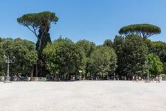 Amazing Panorama Of Terrazza Del Pincio In City Of Rome