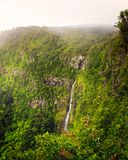 Waterfall Black River  Mauritius Royalty Free Stock Image