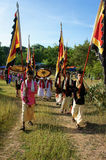 Amazing panoramic,Kate festival, Cham traditional culture Stock Photography